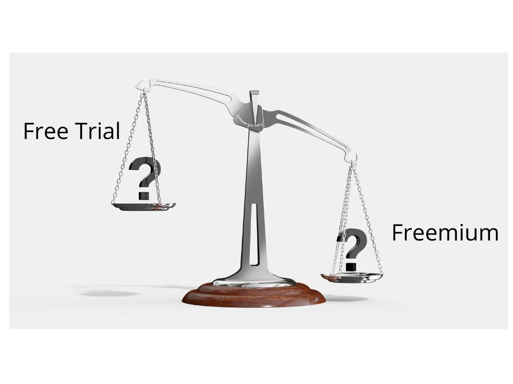 Free trial or freemium