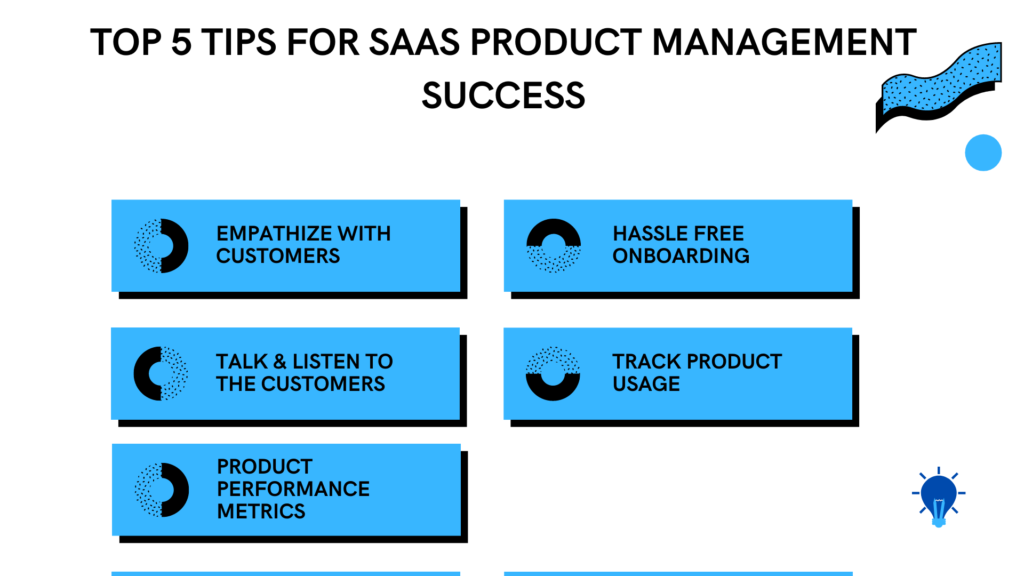 Top 5 tips for SaaS Product Management